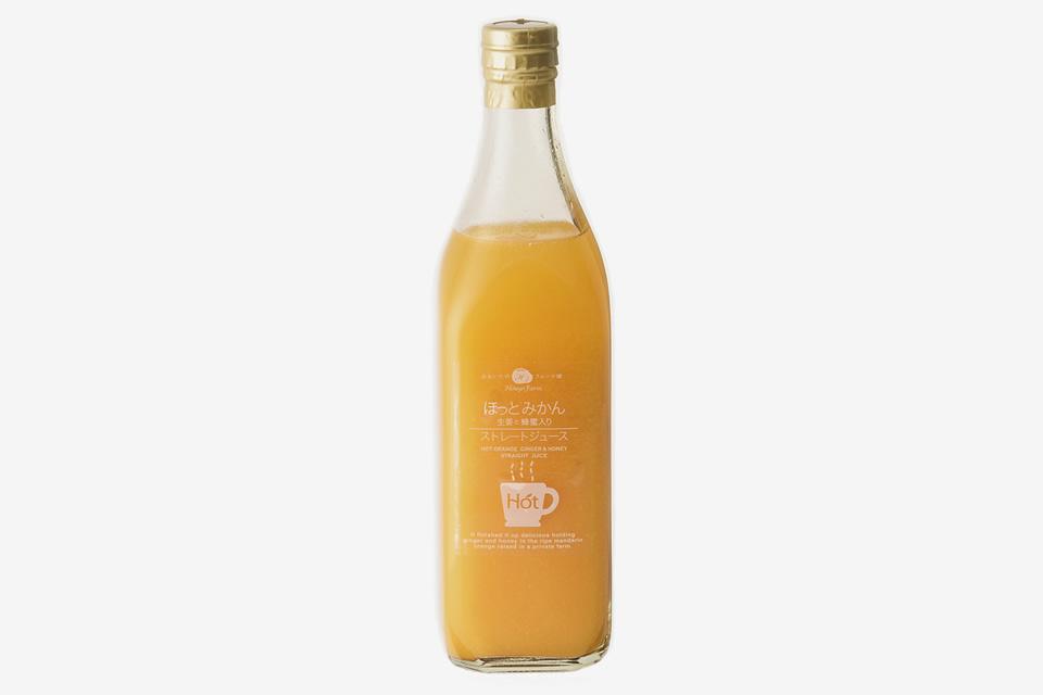 ほっとみかんジュース(生姜と蜂蜜入り)